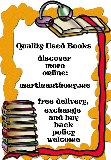 Martin Anthony – Quality Used Books